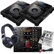 【キャンペーン特典付き!】 Pioneer CDJ-900 nexus + DJM-2000 nexus + HDJ-2000 ALL Pioneer DJ SET 【USBフラッシュメモリ16GBプレゼント!】
