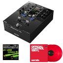 Pioneer DJ DJM-S3 + Seratoコントロールヴァイナル RED DVS SET 【高品質のOYAIDE d+USBケーブル class B(1.0m)をプレゼント!】