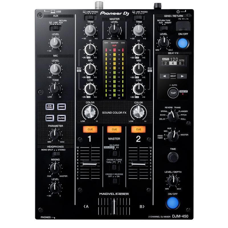 Pioneer DJ(パイオニア)DJM-450【代引手数料・送料無料】【フラッシュメモリ8GBプレゼント!】【予約商品 / 12月上旬発売予定】