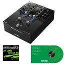 Pioneer DJ DJM-S3 + Seratoコントロールヴァイナル GREEN DVS SET 【高品質のOYAIDE d+USBケーブル class Bをプレゼント!】