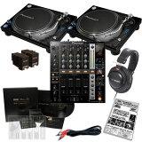 【選べるキャンペーン特典付き!】 Pioneer PLX-1000 + DJM-750 SCRATCH LIVE SL2 DJ SET 【予約商品 / 6月上旬入荷予定】