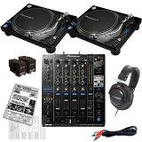 【選べるキャンペーン特典付き!】 Pioneer PLX-1000 + DJM-900 SRT DJ SET 【予約商品 / 6月上旬入荷予定】