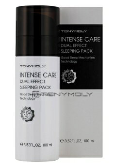 Intense Care Dual Effect Sleeping Pack in tense care dual effect sleeping pack 100 ml Korean cosmetic / Korean cosmetic / Korea Koss /BB cream /bb