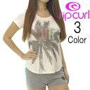 リップカール RipCurl レディース ヤシの木SURF半袖Tシャツ
