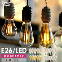 【5個セット】【調光器対応】エジソン バルブ EDISON BULB (LED/4W/100V/口金