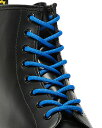 ショッピングドクターマーチン Dr.Martens 140cm BLUE ROUND SHOE LACE AC994400 ドクターマーチン 純正ラウンドシューレース ブルー 靴ひも 靴紐 8ホ−ル用 10ホ−ル用