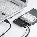 【お取り寄せ】 サンワサプライ SATA-USB3.0変換ケーブル   USB-CVIDE3