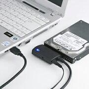 【お取り寄せ】 サンワサプライ SATA-USB3.0変換ケーブル | USB-CVIDE3