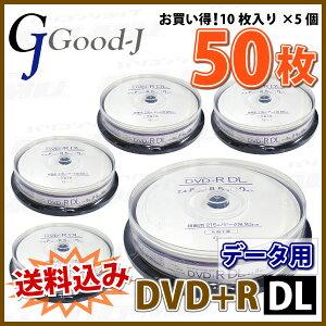 Good-J_Good-JDVD+RDL2.4-8��®50��(10��×5��)���ԥ�ɥ륱����(GJDL+8X10PW5�ĥ��å�)