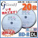 �ڵ�Ͽ��ǥ����ۡ�20��=10�祹�ԥ�ɥ륱������2�ġ� ���������ߡ� Good-J BD-R DL �ǡ������ǥ�����ϥ��ӥ����Ͽ���б� 50GB 1-6��® 20��(10���2...