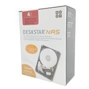 【内蔵用ハードディスク】【3.5インチ SATA】 HGST(エイチ・ジー・エス・ティー) DESKSTAR NAS 4TB SATA (0S04005) 【RCP】
