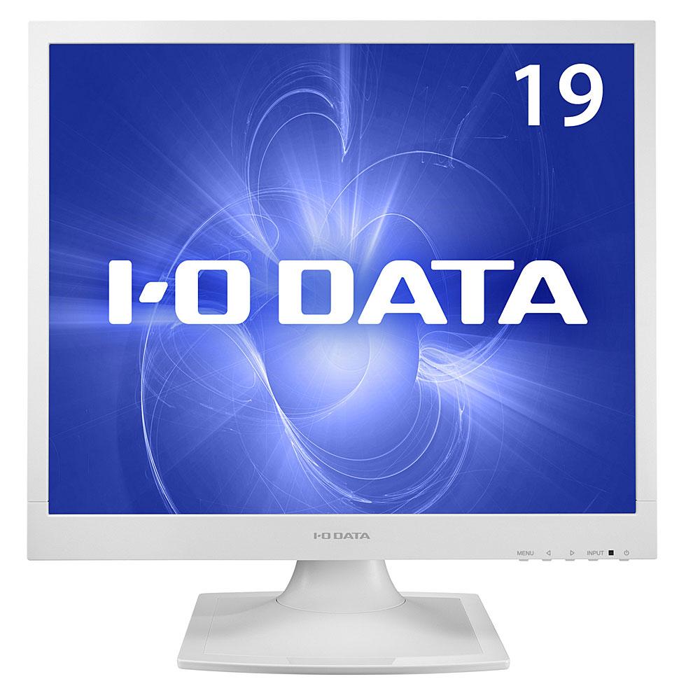【新品】【液晶ディスプレイ】 IO DATA(アイ・オー・データ) 19型 液晶ディスプレイ ホワイト (LCD-AD192SEDSW) 【RCP】