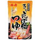 【 福寿 】秋田県産 きりたんぽ鍋つゆ 4〜5人前濃縮5倍 200g