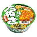 【1ケース 12個入】東洋水産マルちゃん緑のたぬき 天そばカップ麺 インスタントそば