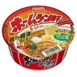 【1ケース 12個入】ホームラン軒【鶏ガラ醤油ラーメン】カップ麺