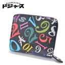 【メール便送料無料】フランク三浦 二つ折り財布 ラウンドファスナー FMS-07