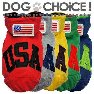 Tシャツ ワッペン パーカー パピーサイズ ドッグウェア