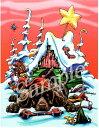 ショッピングクリスマスカード クリスマスカード【ジャーマン・ショートヘアー・ポインター】輸入雑貨 犬雑貨 犬グッズ