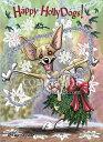 ショッピングクリスマスカード Holidayクリスマスカード【チワワ】輸入雑貨 犬雑貨 犬グッズ