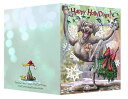 ショッピングクリスマスカード Holidayクリスマスカード【ワイマラナー】輸入雑貨 犬雑貨 犬グッズ