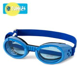 【Doggles (ドグルス)】Shiny Blue ILS Doggles with Blue Lens(ILS犬用ゴーグル/ブルー) 【YDKG-k】【W3】【あす楽対応】