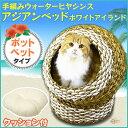アジアンベッド ポットベッド夏用 冷感 冷却 暑さ対策 ペット 猫 キャット Pet館 ペット館 楽天 猫の日