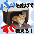 折りたたみソフトケージ OSC-800あす楽対応 サークル 犬 ドッグ 猫 ペット メッシュ ケージ ゲージ おりたたみ 簡易 中型犬 おでかけ お出かけ 旅行 ドライブ 避難 アイリスオーヤマ Pet館 ペット館