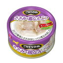 【犬 フード】ごちそうタイム(缶) ささみ&鶏なんこつ 80g【犬用 ドッグフード 缶詰】ペットライン 【TC】[LP]