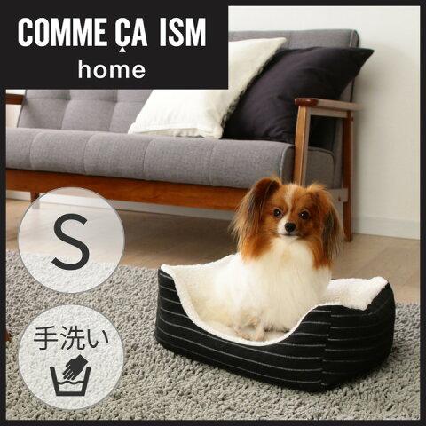 COMME CA ISM ペットベッド スクエアベッド Sサイズあったか ペットベッド コムサ ペット用品 犬 猫 角型 COM-SBS アイリスオーヤマ Pet館 ペット館 楽天