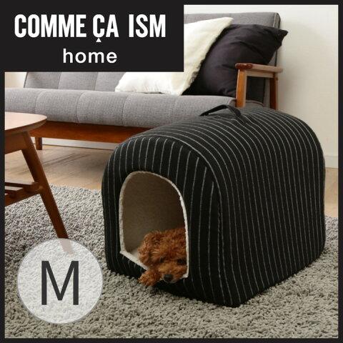 COMME CA ISM ペットベッド ドーム型ハウス Mサイズあったか ペットベッド コムサ ペット用品 犬 猫 COM-DHM アイリスオーヤマ Pet館 ペット館 楽天