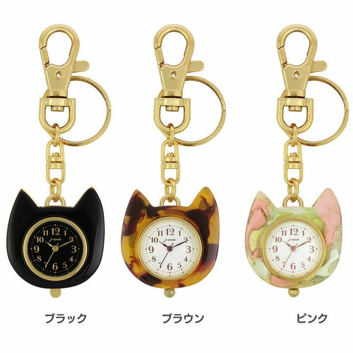 ネコキーチェーンウォッチ HP212-BK時計...の紹介画像2