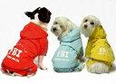 メール便【送料無料】「ワンちゃんレインコート」FBI捜査官レインコート♪【ドッグウェア】【犬の服】【犬 服】〔メール便〕【あす楽対応】
