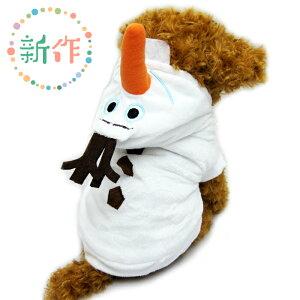 雪だるま クリスマス サンタクロース コスプレ ハロウィン フリース ダックス トイプードル ドッグウェア