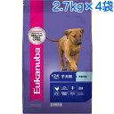 (取寄:1〜2週間) ユーカヌバ 子犬用 大型犬用 1ケース(2.7kg×4袋) (ラージパピー)
