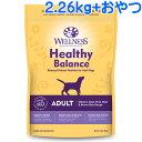 YKエンタープライズ ウェルネス ヘルシーバランス 成犬用 チキン 2.26kg