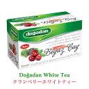 dogadan ドアダン クランベリーホワイトティー ティーバッグ トルコ産 白茶 緑茶ブレンド