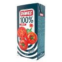 【訳ありSALE・賞味期限間近】Dimes ディメス 有塩トマトジュース 1L 果汁100%濃縮還元 トルコ産 Domates Suyu Tomato Juice