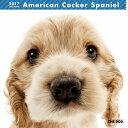 【6】2017年 国内版 THE DOG 壁掛け カレンダー アメリカンコッカースパニエル シール付