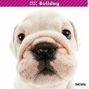 【6】2017年 国内版 THE DOG 壁掛け カレンダー ブルドッグ シール付き(2016年9月から17年12月) 犬種別 ザ・ドッグ ザドッグ