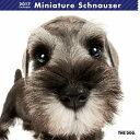 【6】2017年 国内版 THE DOG 壁掛け カレンダー ミニチュアシュナウザー シール付き(2016年9月から17年12月) 犬種別 ザ・ドッグ ザドッグ