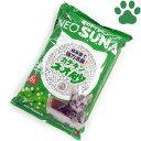 【25】 【単品】 コーチョー ネオ砂 カテキン 6L 猫砂 緑茶 消臭 固まる 燃やせる 業務用