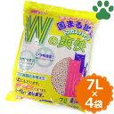 【140】 【ケース】 [674円/1袋] トフカスパイン 木の香り 7L x 4袋 トフカス おからの猫砂 流せる ネコ砂 クリーンビート
