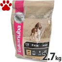【28】 [正規品] ユーカヌバ ラム&ライス 子犬用(離乳期から12か月) 全犬種用 小粒 2.7kg ドッグフード ユカヌバ