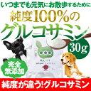 犬・猫の関節の元気をサポート(純度100%の グルコサミン)【メール便送料無料】無添加・サプリメント