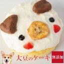 犬用 誕生日ケーキ(大豆のワンワン ケーキ)無添加 犬用ケーキ【クール便】