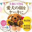 犬 ケーキ(無添加 誕生日ケーキ)似顔絵 犬用ケーキバースデ...