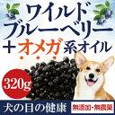 犬の目・白内障・視力に(美味しい目薬・ワイルド ブルーベリー 320g)無添加のワイルド ブルーベリー おやつやトッピングにどうぞ