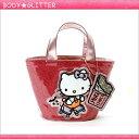ショッピングキティ ★【HbG】×ハローキティ Skater Kitty Eco Lunch (ピンク)★【あす楽】