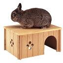 【ペット 小動物】SIN 4646 ウッドハウス【ハムスター ハウス】ファンタジーワールド 84646099【TC】[TP]