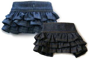 デニムギャザースカート マッチング スタイル